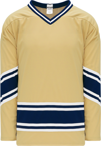 Custom Hockey Jerseys |NOTRE DAME VEGAS GOLD  hockey jerseys