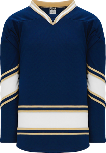 Custom Hockey Jerseys |NEW NOTRE DAME NAVY  hockey jerseys