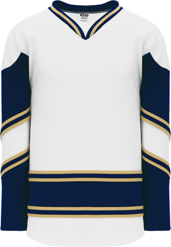Custom Hockey Jerseys |NEW NOTRE DAME WHITE  hockey jerseys