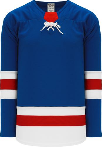 2017 NEW YORK RANGERS ROYAL custom hockey jerseys