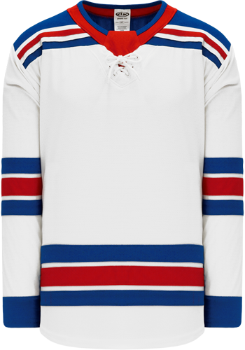 2017 NEW YORK RANGERS WHITE custom hockey jerseys