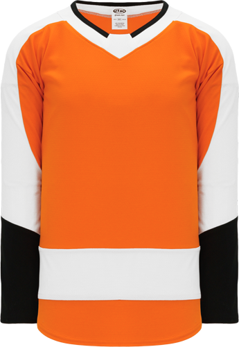 2017 PHILADELPHIA ORANGE custom hockey jerseys