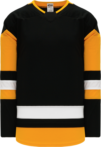 2017 PITTSBURGH BLACK custom hockey jerseys