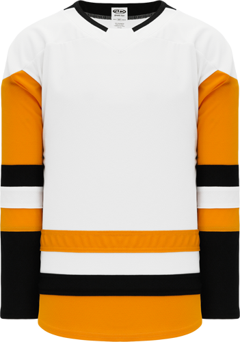 2017 PITTSBURGH WHITE custom hockey jerseys