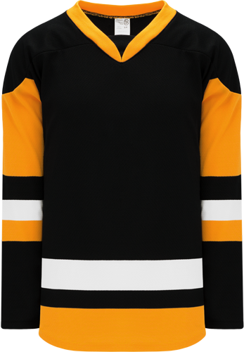 2014 PITTSBURGH 3RD BLACK custom hockey jerseys