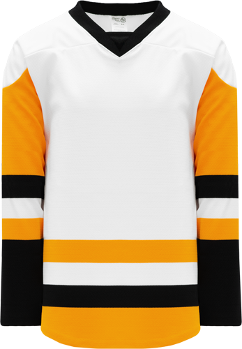 2016 PITTSBURGH WHITE custom hockey jerseys