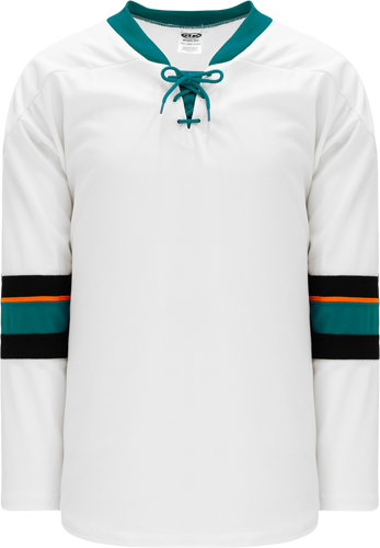 2013 SAN JOSE WHITE custom hockey jerseys