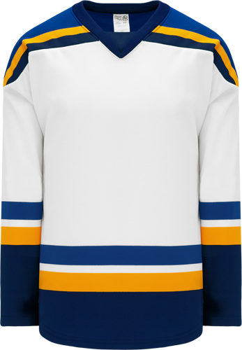 2014 ST. LOUIS WHITE custom hockey jerseys
