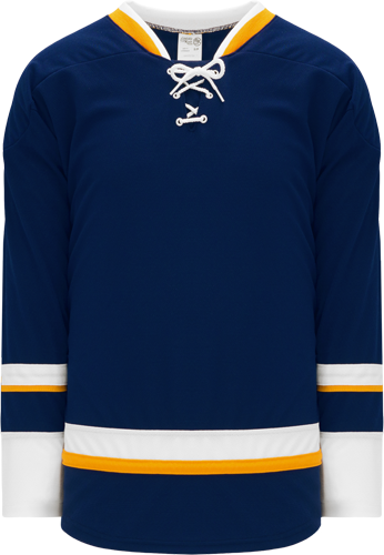 2008 ST. LOUIS 3RD NAVY custom hockey jerseys