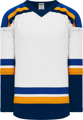 2017 ST. LOUIS WHITE custom hockey jerseys
