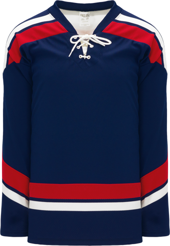 2005 TEAM USA NAVY custom hockey jerseys