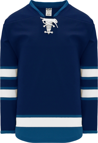 2011 WINNIPEG NAVY custom hockey jerseys