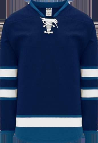 Custom 2011 WINNIPEG NAVY  hockey jerseys |  Design Yours - Fast Shipping