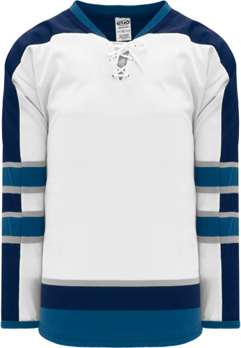 2011 WINNIPEG WHITE custom hockey jerseys