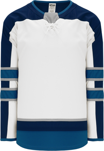 2017 WINNIPEG WHITE custom hockey jerseys