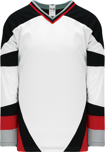BUFFALO WHITE custom hockey jerseys