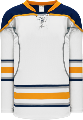2009 BUFFALO 3RD WHITE custom hockey jerseys