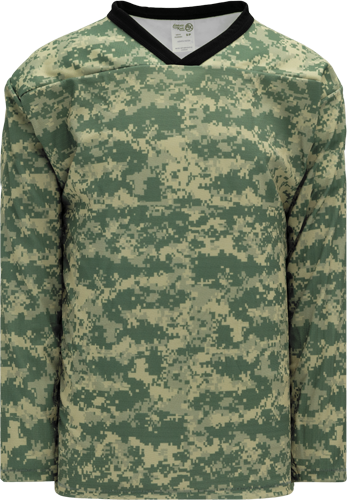 CAMOUFLAGE  hockey jerseys  Desert | Customize with Logo, Player Name & Number
