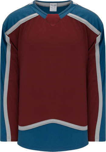 COLORADO avalanche CARDINAL  hockey jerseys | Customize with Logo, Player Name & Number