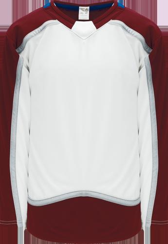 Custom Hockey Jerseys |2017 COLORADO WHITE  hockey jerseys