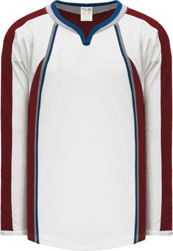 2011 COLORADO WHITE custom hockey jerseys