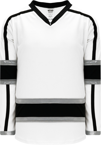 2010 LOS ANGELES 3RD WHITE custom hockey jerseys