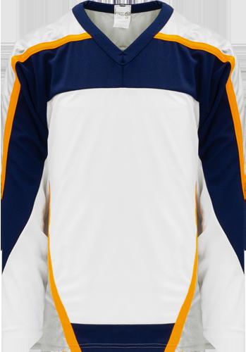 Custom Hockey Jerseys |NASHVILLE WHITE  hockey jerseys