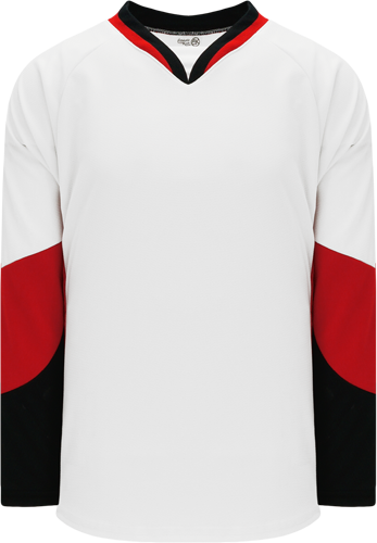 2010 OTTAWA WHITE custom hockey jerseys