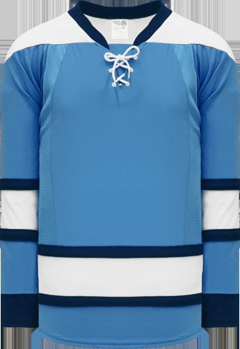 Custom Hockey Jerseys |NEW 2008 PITTSBURGH 3RD SKY BLUE  hockey jerseys