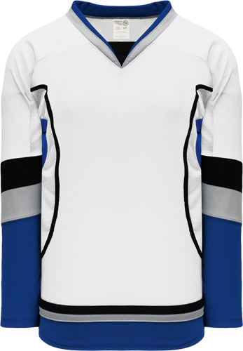 2009 TAMPA BAY 3RD WHITE custom hockey jerseys