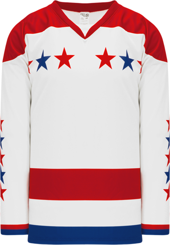 2015 WASHINGTON 3RD RED custom hockey jerseys
