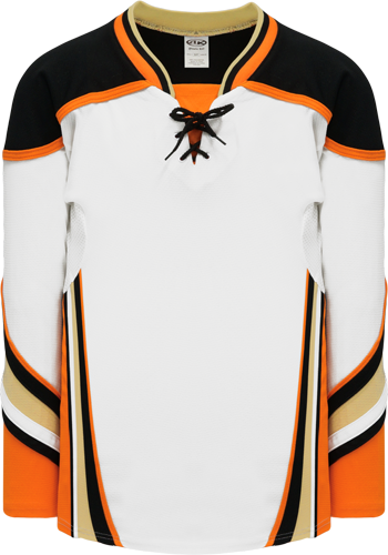2014 ANAHEIM WHITE custom hockey jerseys