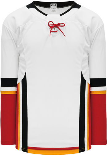 2017 CALGARY WHITE custom hockey jerseys