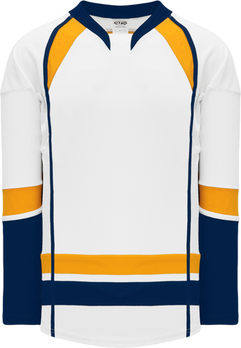 NASHVILLE hockey jerseys WHITE  2013 | Customize with Logo, Player Name & Number