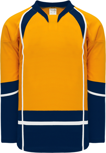 2013 NASHVILLE GOLD custom hockey jerseys