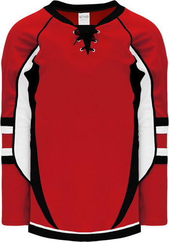 2009 OTTAWA 3RD RED custom hockey jerseys