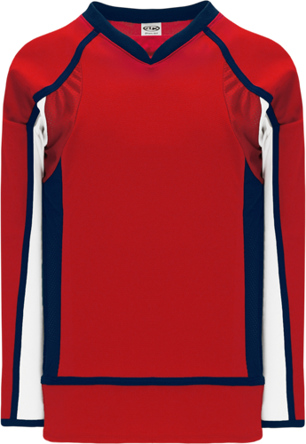 2008 WASHINGTON RED custom hockey jerseys