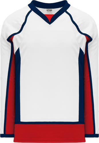 2008 WASHINGTON hockey jerseys WHITE   | Customize with Logo, Player Name & Number
