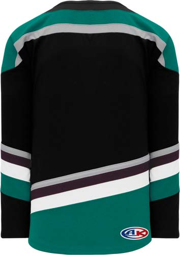 2018 ANAHEIM 3RD BLACK hockey jersey | Design Your Own | No Min