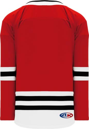 Custom Pro Hockey Jerseys with Knit Body with Sleeve Stripe |  Design Yours - Fast Shipping