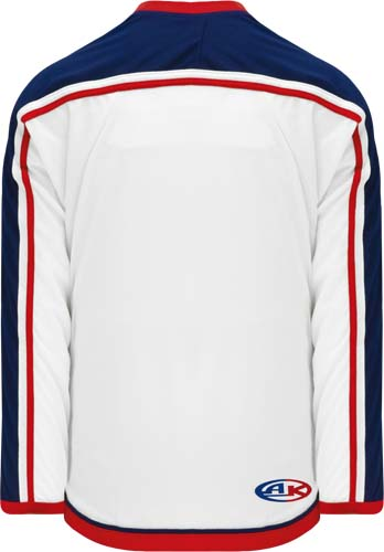 Customized  Columbus hockey jersey white | Design Your Own | No Min