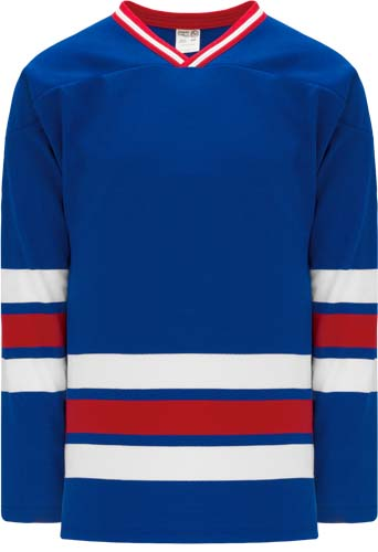 Custom New york rangers team hockey jersey nyr | Design Your Own | No Min