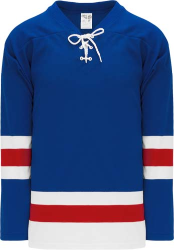 Customized  New Rangers team hockey jersey nyr | Design Your Own | No Min