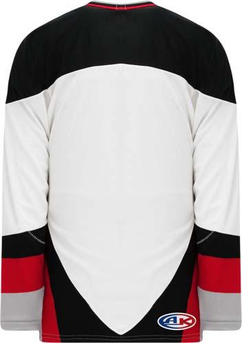 Custom Buffalo white team hockey jersey | Design Your Own | No Min