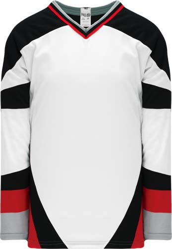 Buffalo white team hockey jersey | Design Your Own | No Min