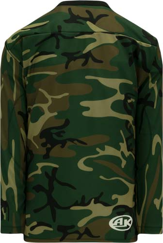 Custom Forest Camouflage hockey jersey CAM | Design Your Own | No Min