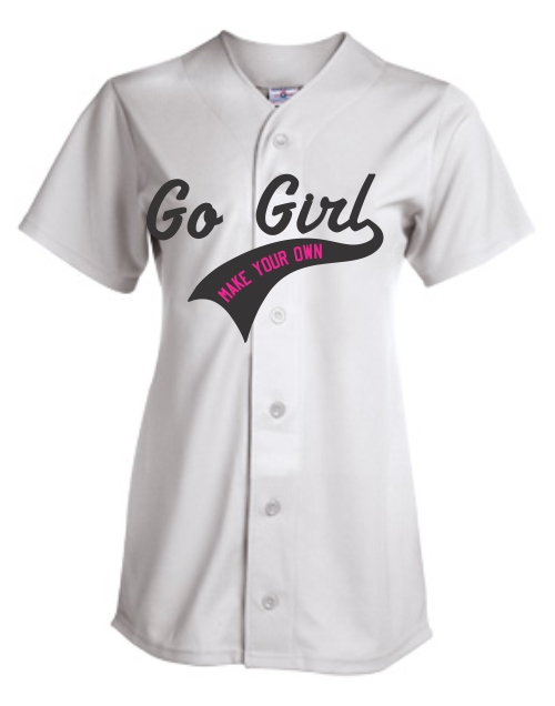 Customized  | Women Baseball Jerseys | Design Your Own | No Min