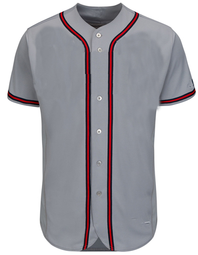 Atlanta Braves MLB  Blank Baseball Jersey - Road