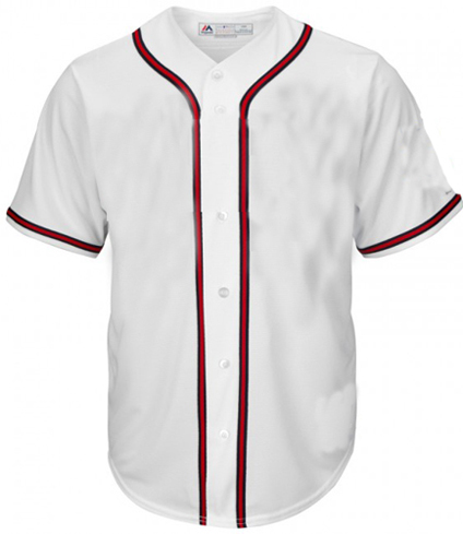 Atlanta Braves MLB  Blank  Baseball jersey - white