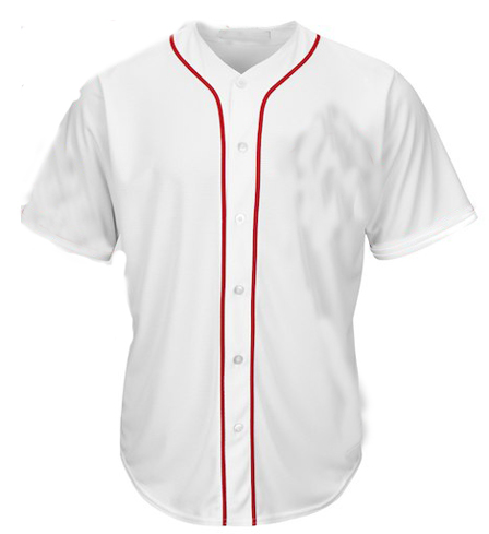 Boston Red Sox MLB  Blank Baseball Jersey